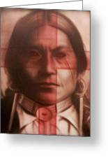 The Noble Savage  Greeting Card