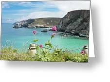 The North Cornwall Coast Greeting Card