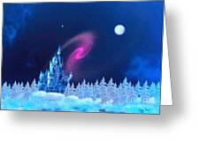 The North Pole Greeting Card by Corey Ford
