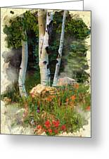 The North Rim Forest Greeting Card