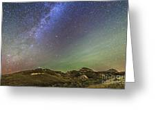 The Northern Autumn Stars Greeting Card