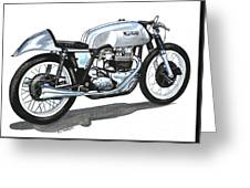 The Norton Dominator Greeting Card