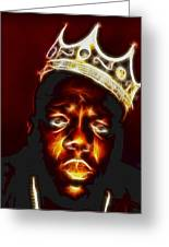 The Notorious B.i.g. - Biggie Smalls Greeting Card