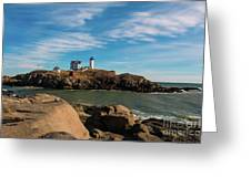 The Nubble 2 Greeting Card