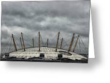 The O2 Arena Greeting Card