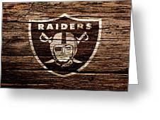 The Oakland Raiders 1e Greeting Card