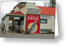 The Oakville Grocery Greeting Card