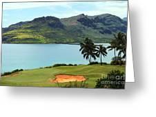 The Ocean Course At Hokuala In Kauai Greeting Card