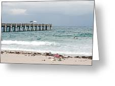 The Ocean Pier Greeting Card
