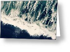 The Ocean Roars Greeting Card