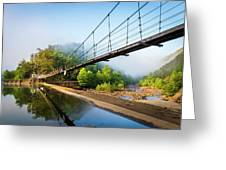 The Ocoee River Dam Greeting Card