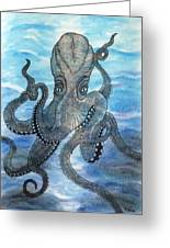 The Octopus 3 Greeting Card
