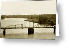 The Old Bridge Greeting Card