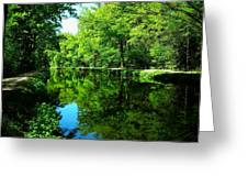 The Old Canal ... Greeting Card