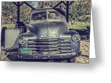 The Old Chevy Vermont Greeting Card