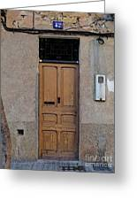 The Old Door. Greeting Card