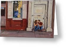 The Old Doorway Greeting Card