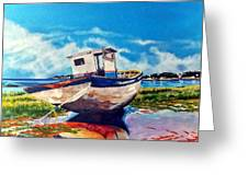 The Old Fishing Boat Greeting Card