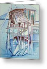 The Old Fishing Shack Greeting Card