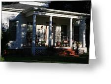 The Old Front Porch Greeting Card