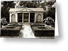 The Old Garden House Greeting Card