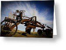 The Old Grader Greeting Card