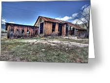 The Old Haunted Barn Greeting Card
