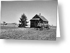 The Old Homestead Paint Greeting Card
