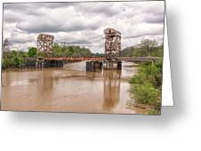 The Old Lift Bridge Greeting Card