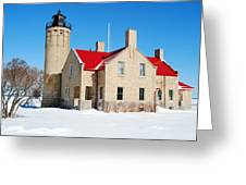 The Old Mackinac Point Lighthouse Greeting Card