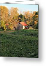The Old Mill At Guilford Greeting Card