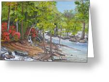 The Old Mill Greeting Card