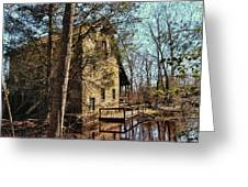 The Old Mill In The Countryside Greeting Card