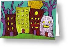 The Old Neighborhood Greeting Card by Wayne Potrafka