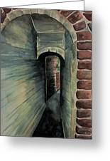 The Old Passageway Greeting Card