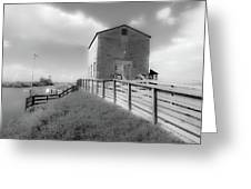 The Old Pump House Greeting Card