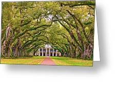 The Old South Version 3 Greeting Card