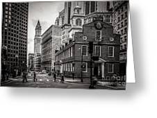 The Old State House Greeting Card