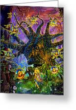 The Old Tree Of Dreams Greeting Card