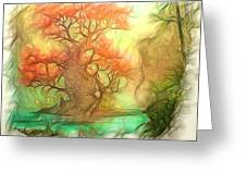 The Old Tree Of The Forest Greeting Card