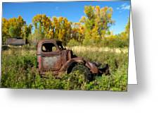The Old Truck  Chama New Mexico Greeting Card