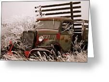 The Old Truck Greeting Card