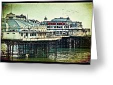 The Old Victorian West Pier Greeting Card
