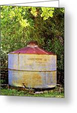 The Old Water Tank Greeting Card