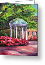 The Old Well Unc Greeting Card by Jeff Pittman