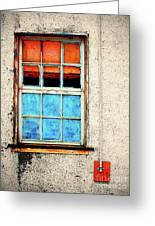 The Old Window Greeting Card