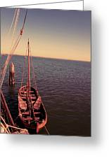 The Old Wooden Boat Greeting Card