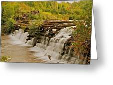 The Old Wooden Dam Greeting Card