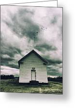 The Oldest Church In Dayton Greeting Card