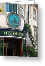 The Oliver Pub Greeting Card